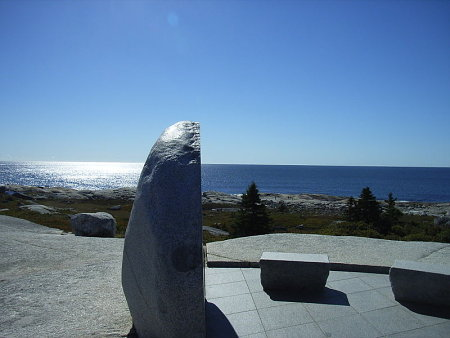 Swissair SR111-Memorial bei Peggys Cove