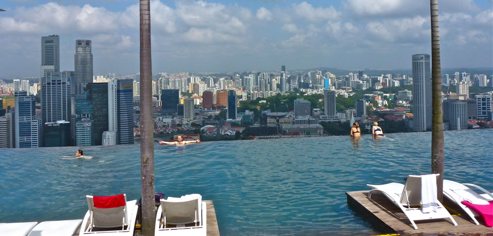 Singapur: Ab in den Infinity Pool!