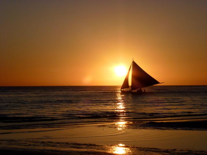 Sonnenuntergang auf Boracay