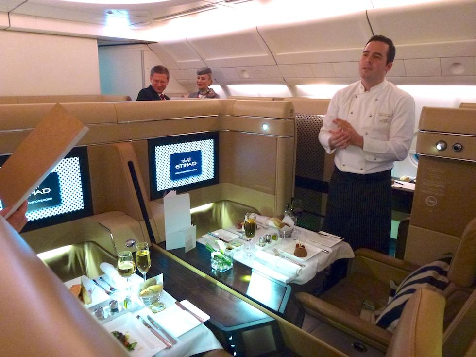 Feudal: Die First-Class im Etihad A330-300