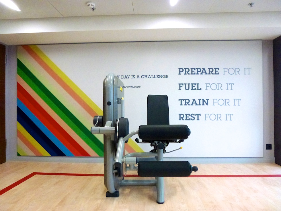 Everyday is a challenge - Fitness-Center im Sheraton Zürich