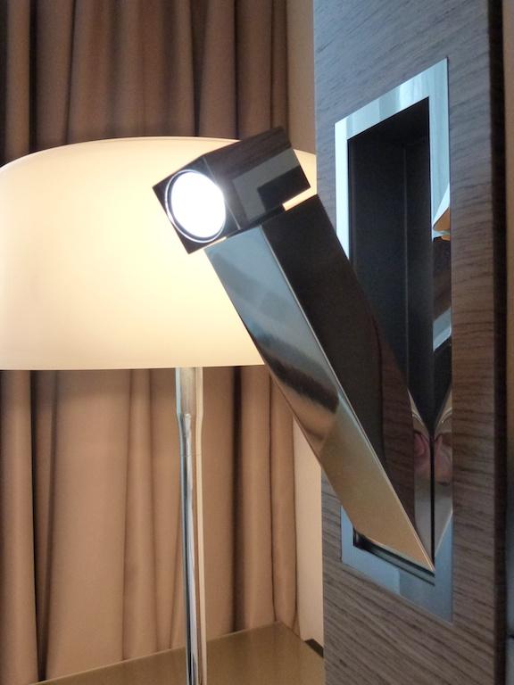 Neckisch versteckt: Leselampe in den Zimmern des Sheraton Zürich