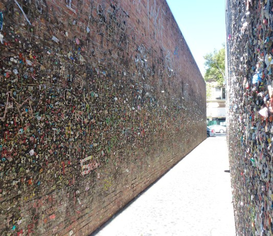 Bubblegum Alley in San Luis Obispo