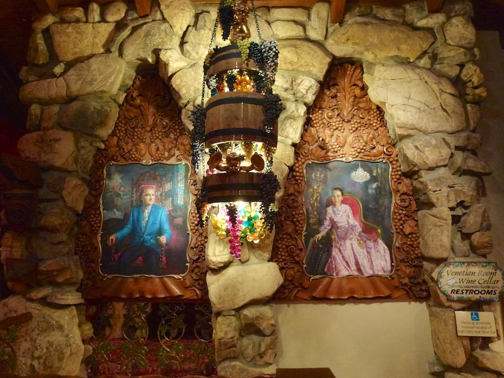 Alex und Phyllis Madonna sind in ihrem Madonna Inn omnipräsent