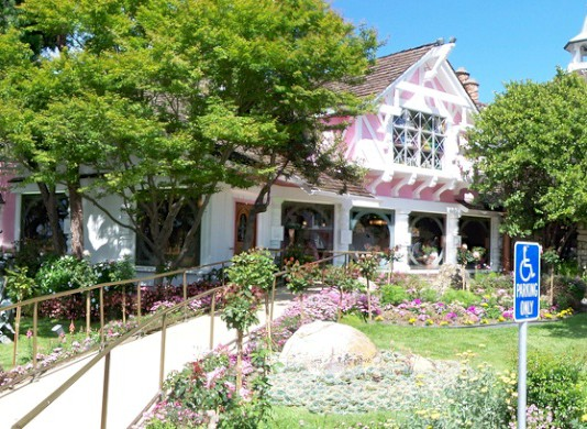 Das Madonna Inn Motel in San Luis Obispo