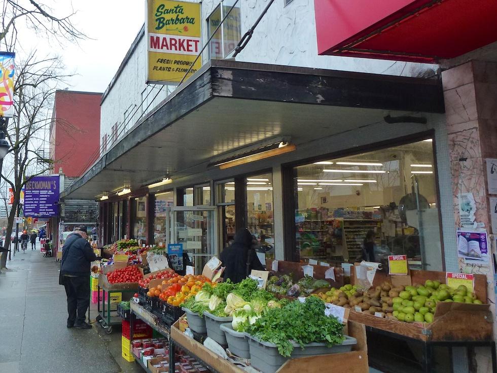 Vancouver Commercial Drive Santa Barbara Market