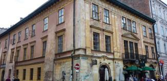 Strassenecke in Krakau