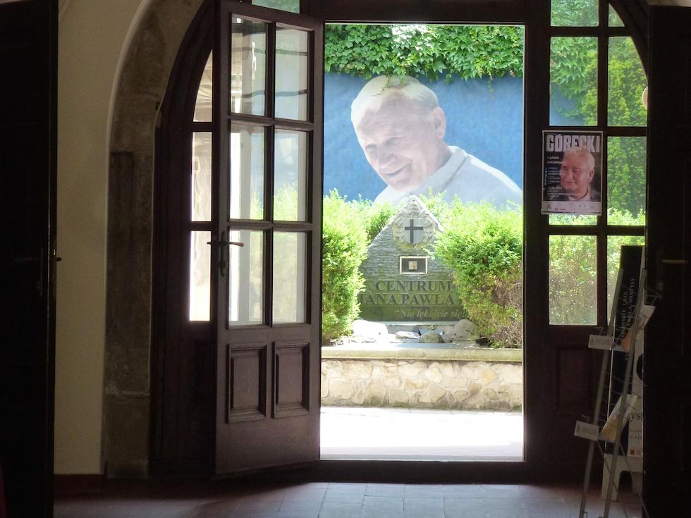 Allgegenwärtig in Krakau: Papst Johannes Paul II