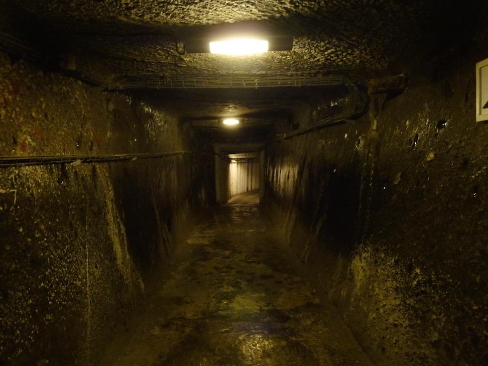 Hinein gehts in die Salzmine Wieliczka.