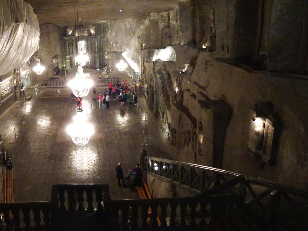 Tief unter Tag - Eine Kapelle in der Salzmine