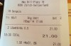 Astronomischer Bierpreis: 21 Franken für zwei Bier im max-restaurant bar & lounge in Zürich