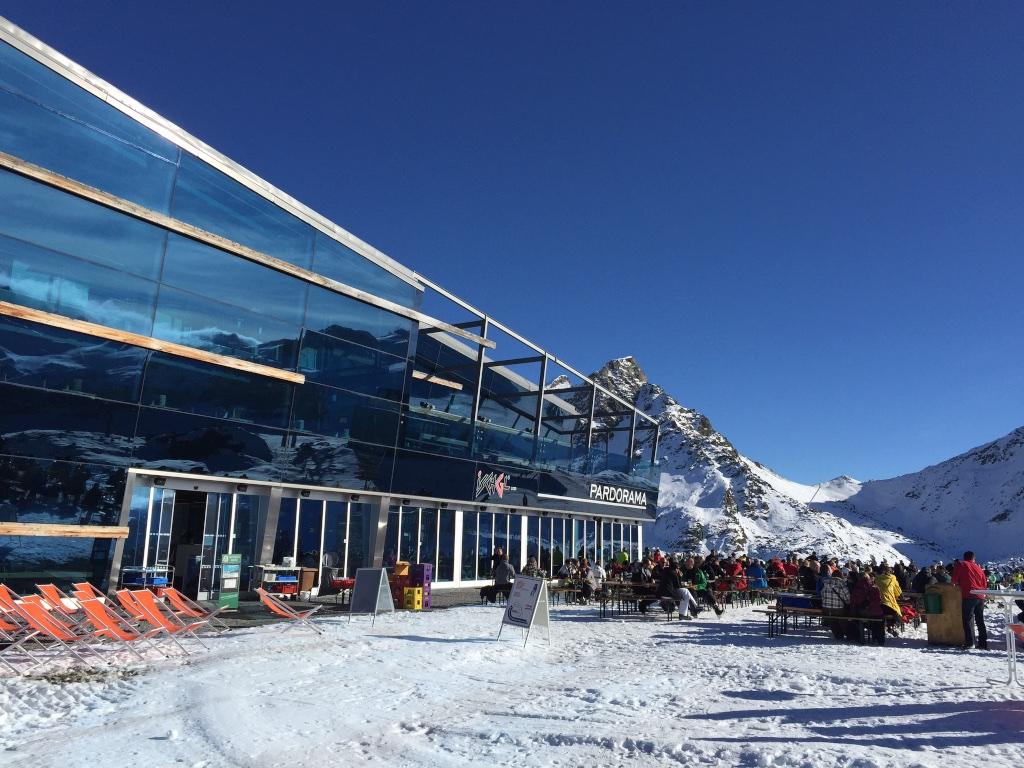 Endlich Schnee: Das Pardorama auf 2620 Meter ü.M.