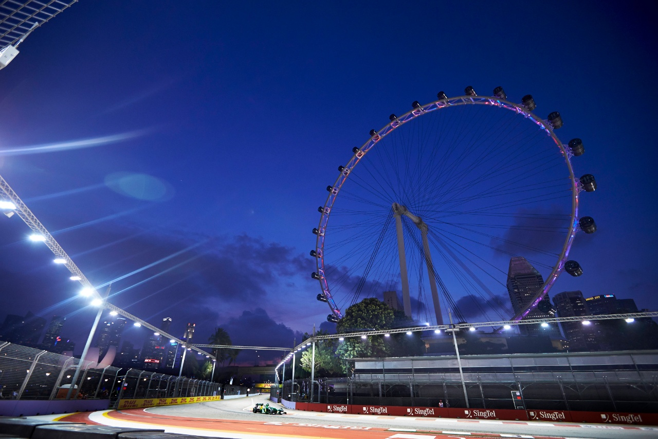 Formel 1 Singapore Grand Prix (CaterhamF1/Flickr CC BY-NC-ND)