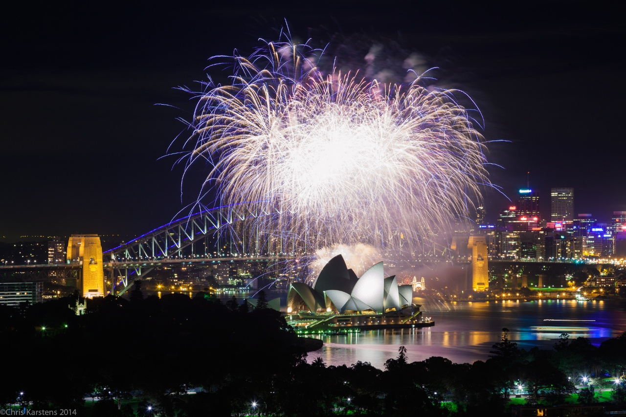 Silvesterfeuerwerk in der Sydney Harbour (cksydney/Flickr CC BY-NC-ND)