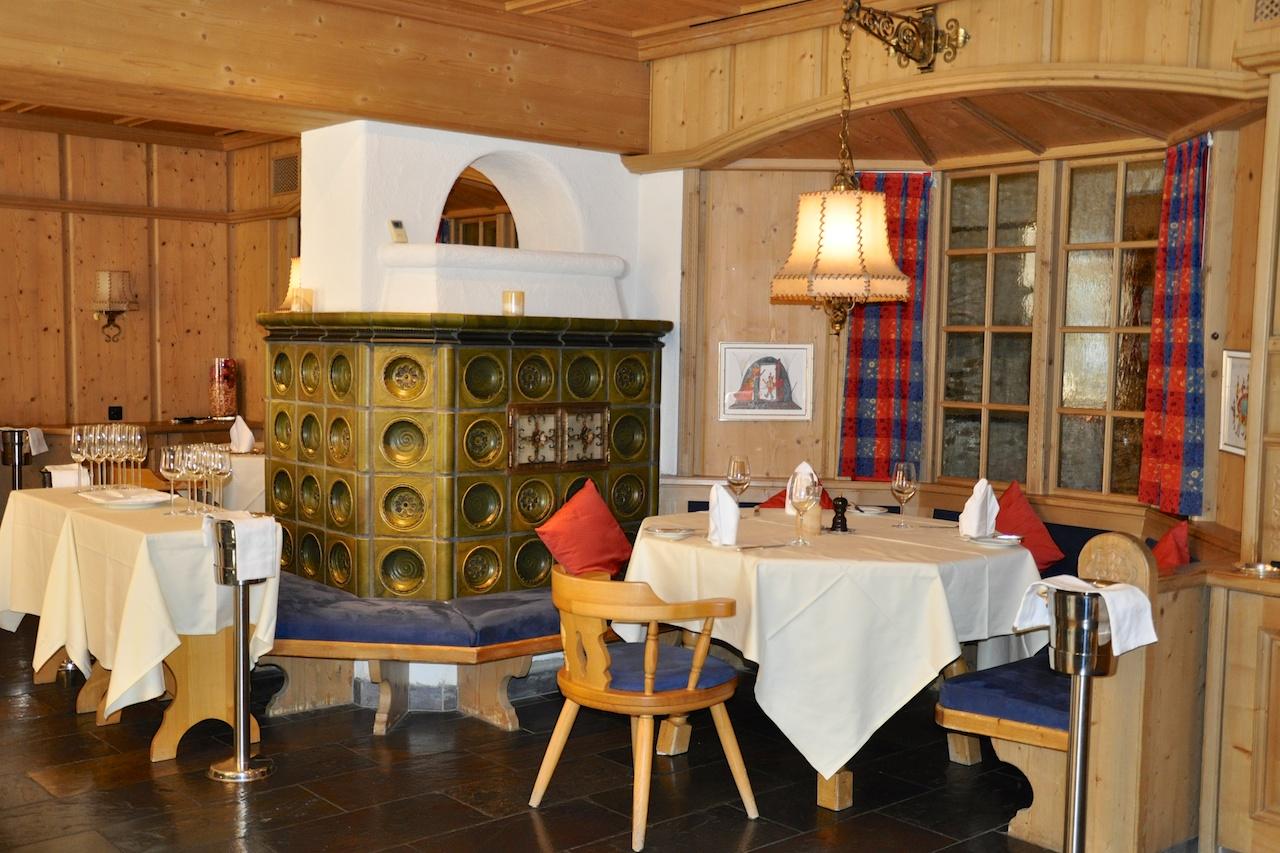 Heimelig: Das Kachelofa-Stübli des Waldhotel National