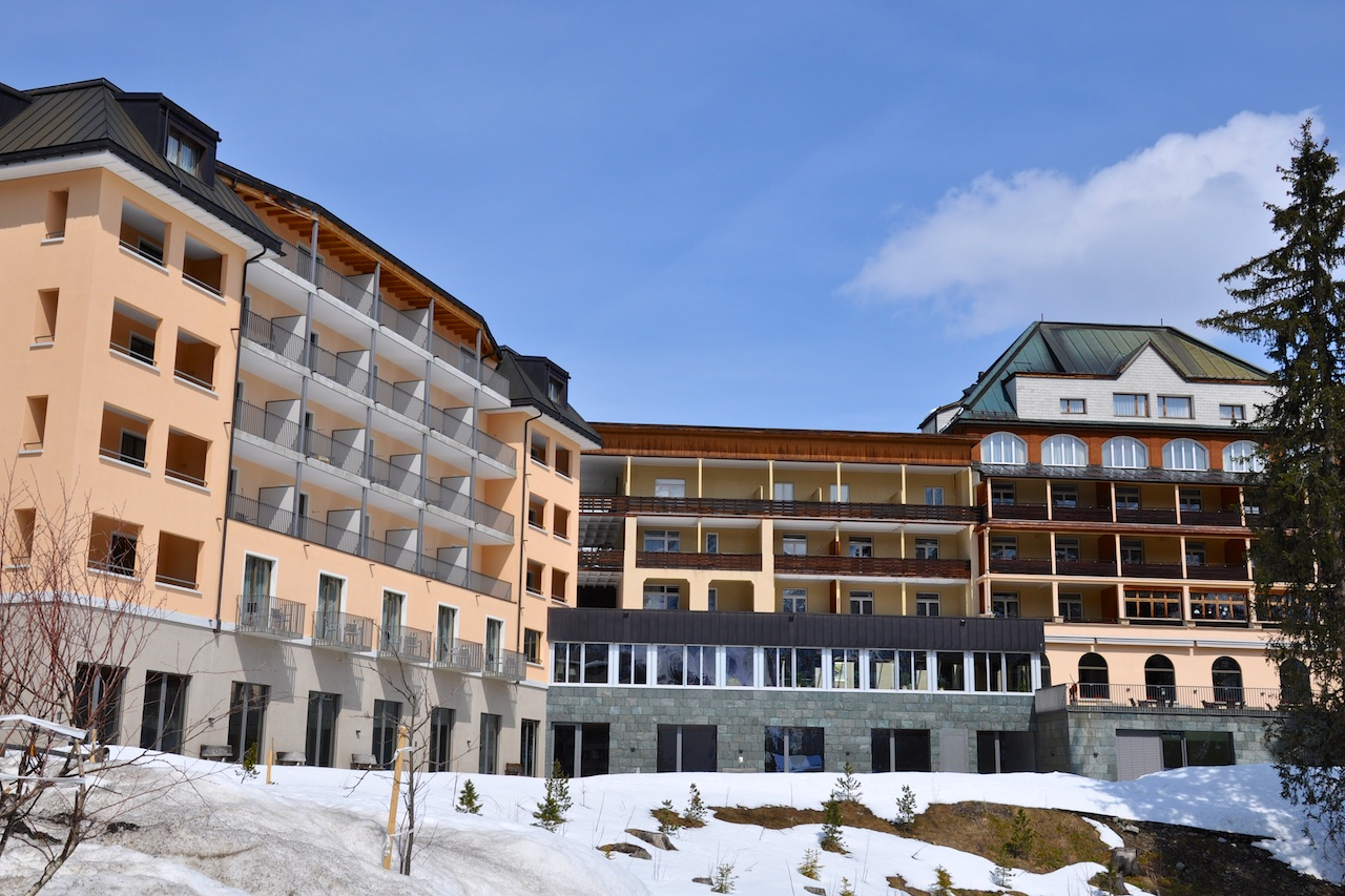 Das Waldhotel National in Arosa