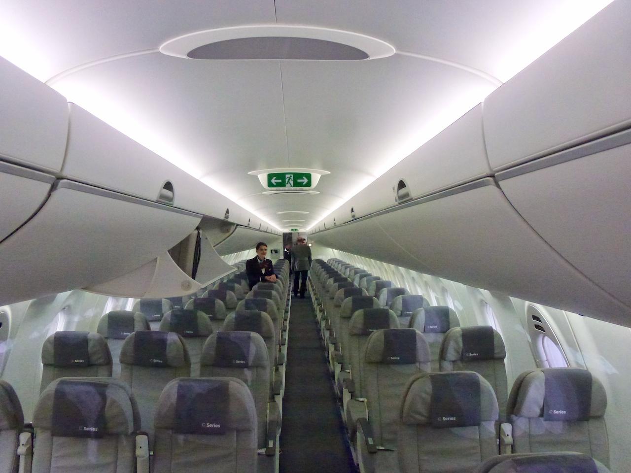Blick ins Innere der CS 100