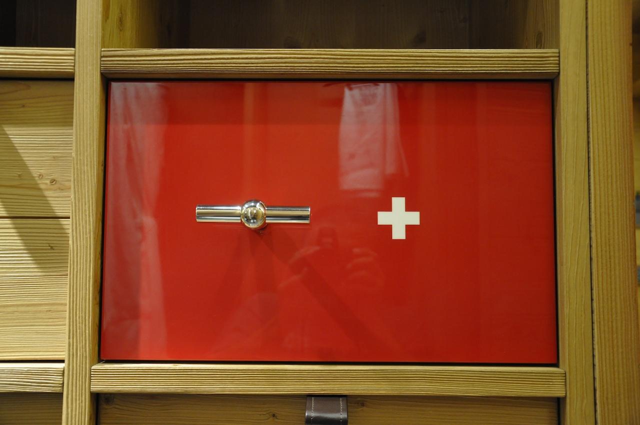 Swissness im W Verbier: Ein Schweizer Tresor, logisch...