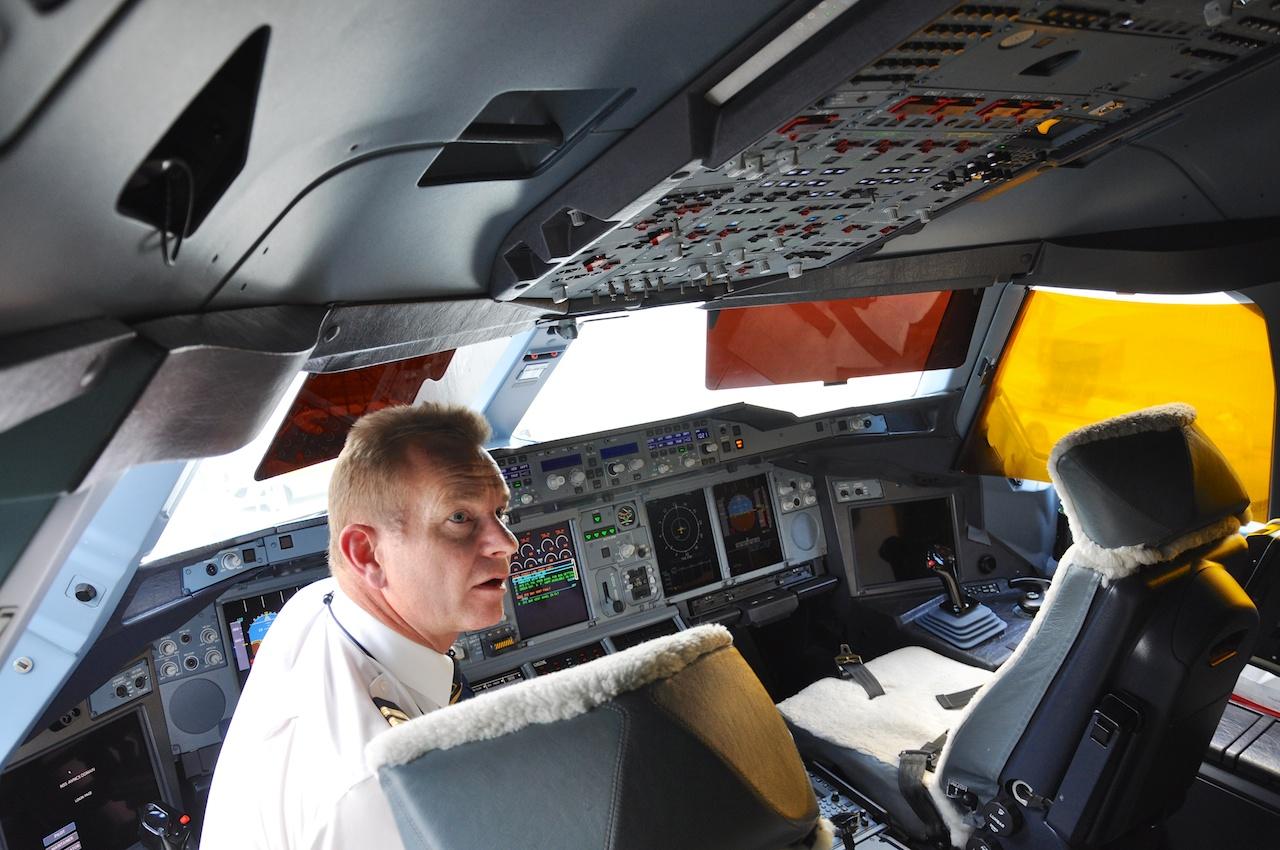 Herr über einen A380: Thomas Gutte, Schweizer Kapitän in Diensten von Emirates