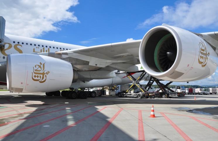 Riesige Dimensionen: 79,75 Meter Flügelspannweite