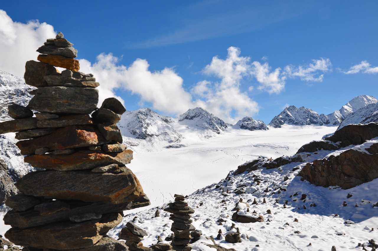 Pitztaler Gletscher: Den Blick schweifen lassen...
