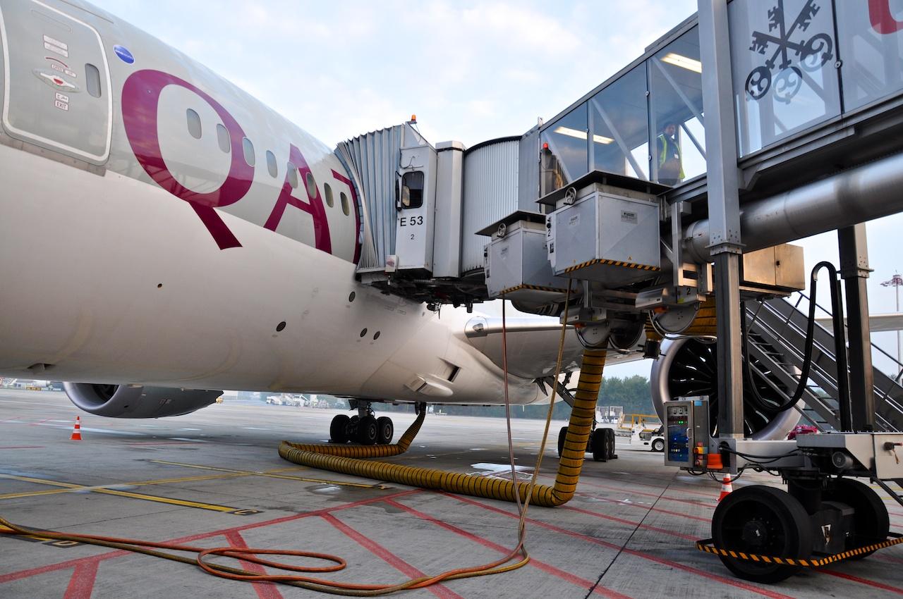Verkabelt: Strom- und Klimaversorgung für den Airliner