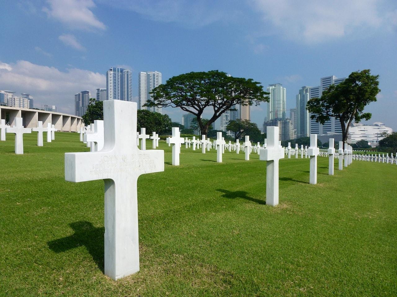 Eindrücklich: Der amerikanische Soldatenfriedhof in Manila