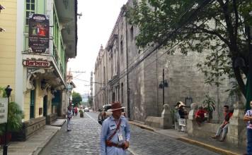 Zurückversetzt in die Kolonialzeit: Old Manila