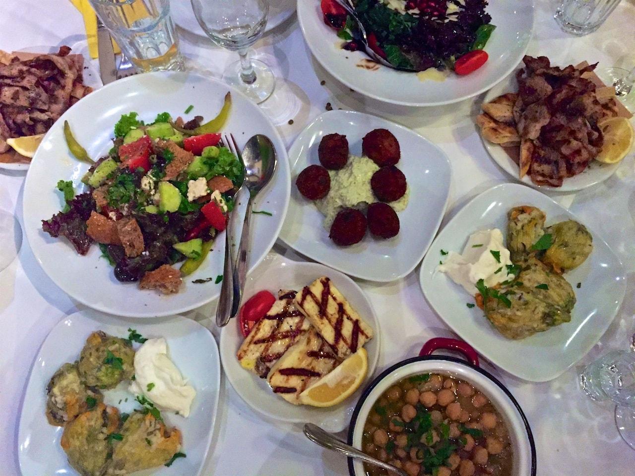 Ohne Essen gehts nirgends in Griechenland.