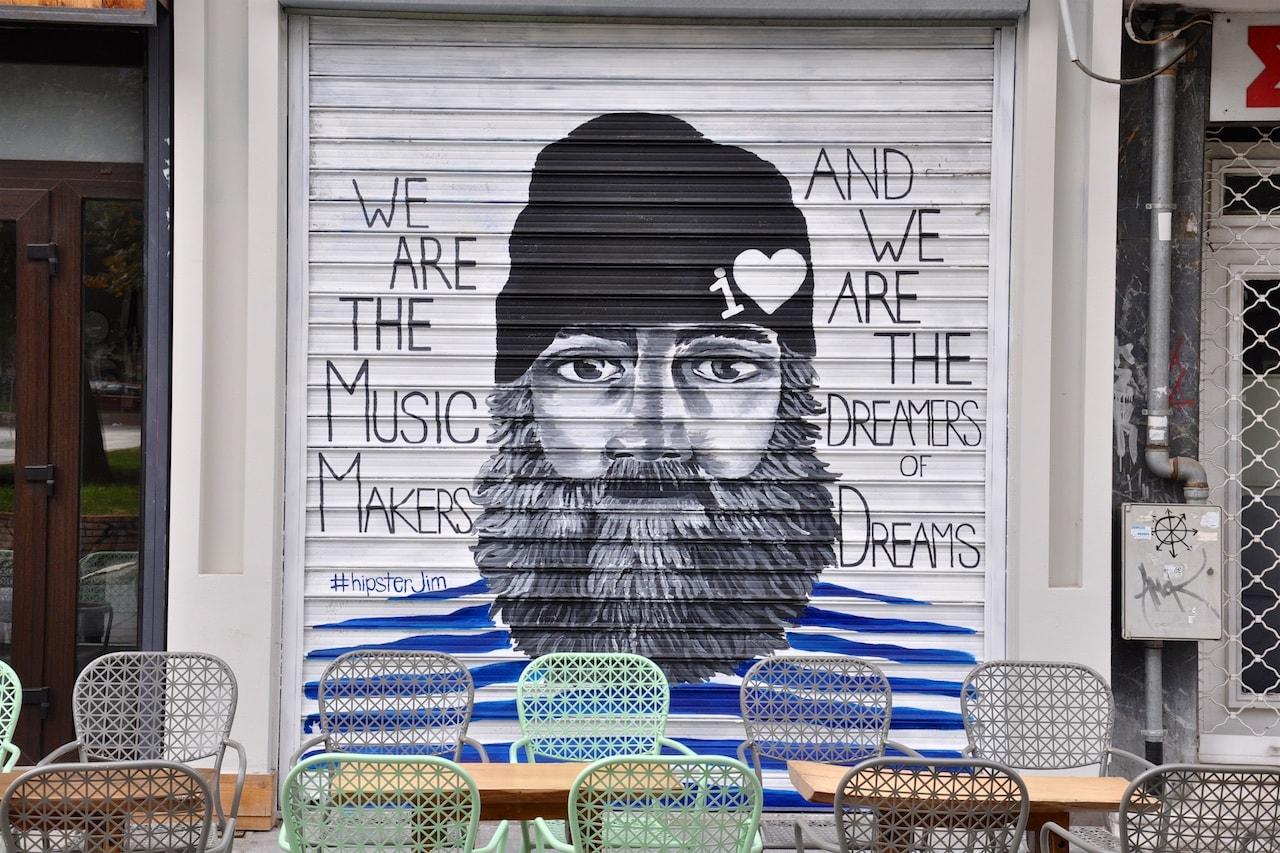 In Thessaloniki lebt die Graffiti-Szene