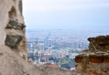 Blick über Thessaloniki