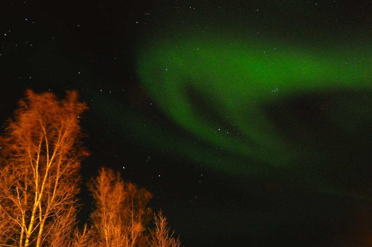 Polarlicht in Abisko, Schweden