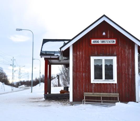 Bahnhof Abisko - Mitten im Niemandsland