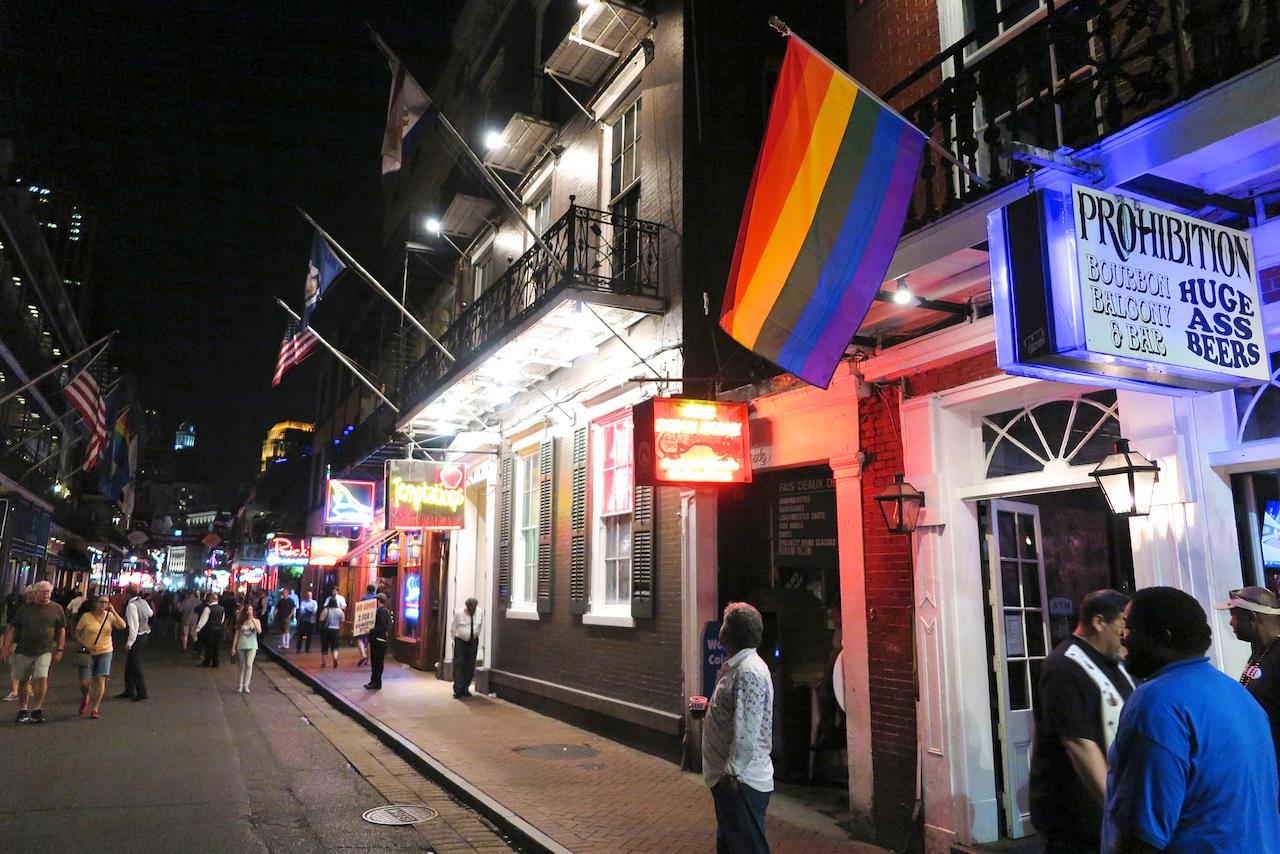 Bourbon Street - Musik und Bier überall