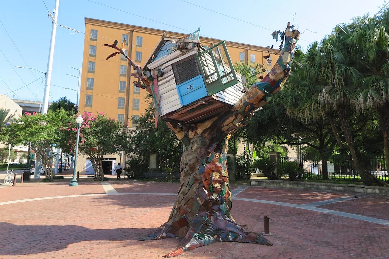 Denkmal für die Opfer von Hurricane Katrina