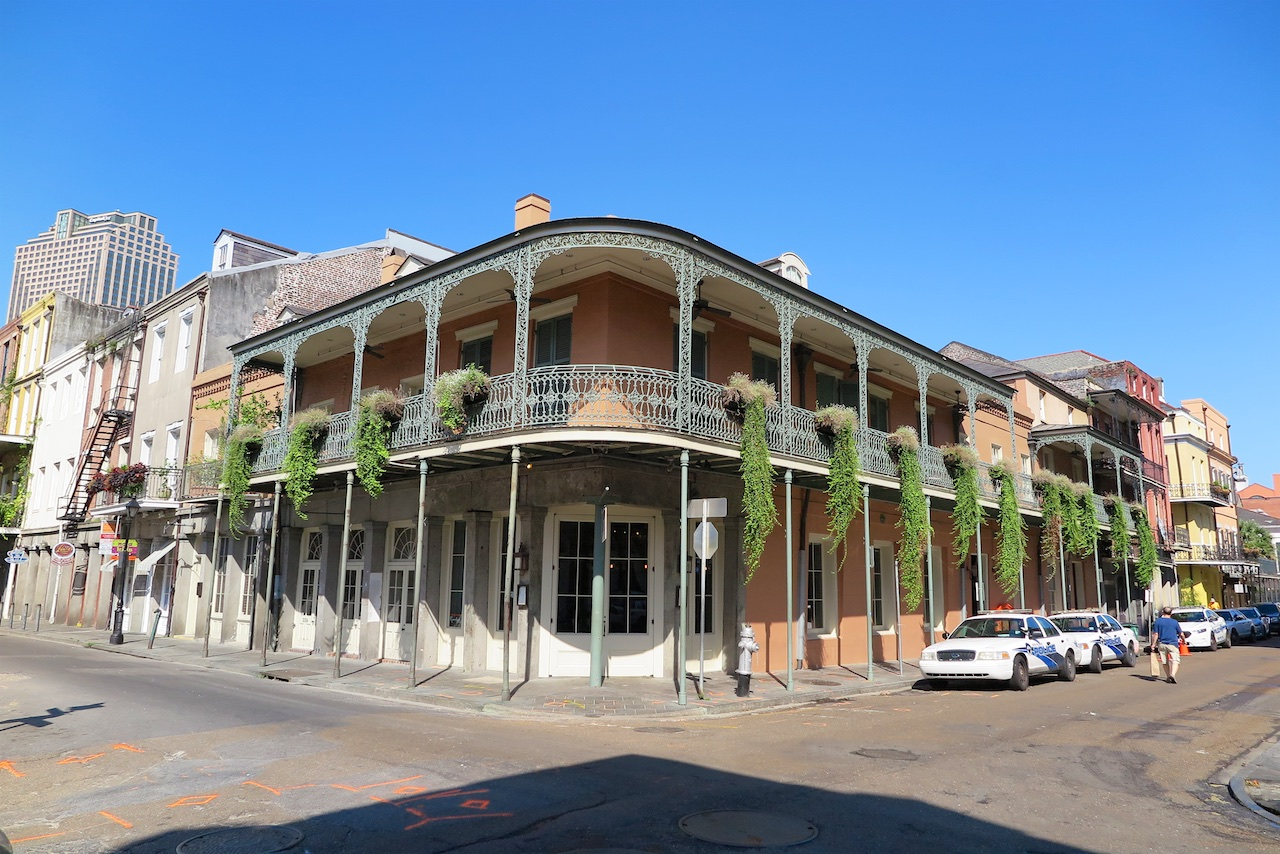 Tolle Architektur - Haus im French Quarter in New Orleans