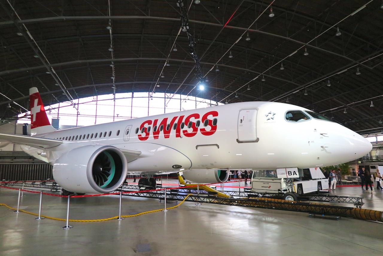 Der neue SWISS Kurz- und Mittelstreckenjet: Bombardier CS100