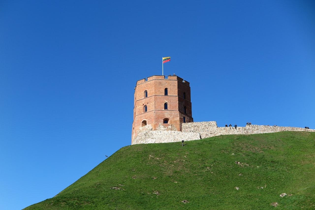 Der Burghügel in Vilnius: Toller Aussichtspunkt über die Stadt