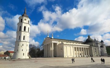 Kathedralenplatz in Vilnius