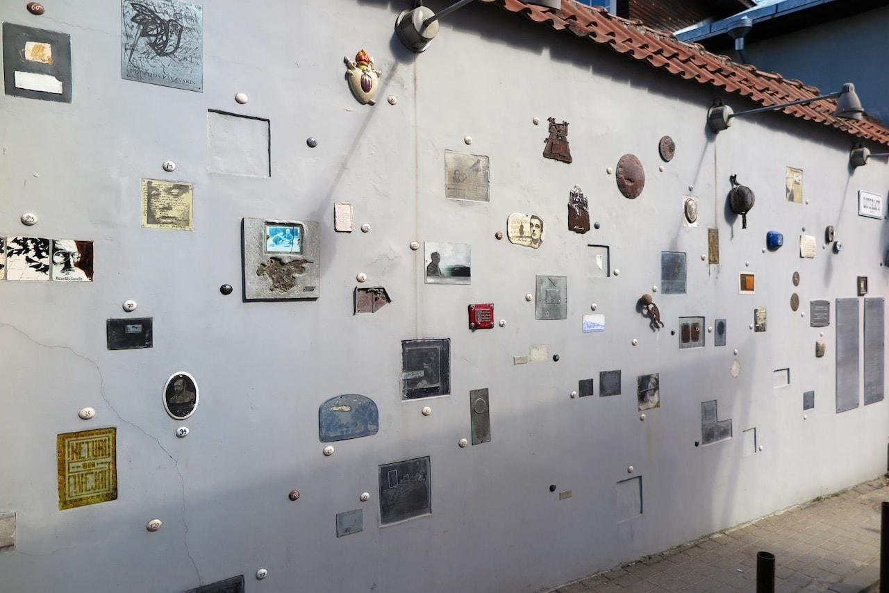 Literatenstrasse Vilnius: Eine künstlerische Huldigung der Schriftsteller Litauens