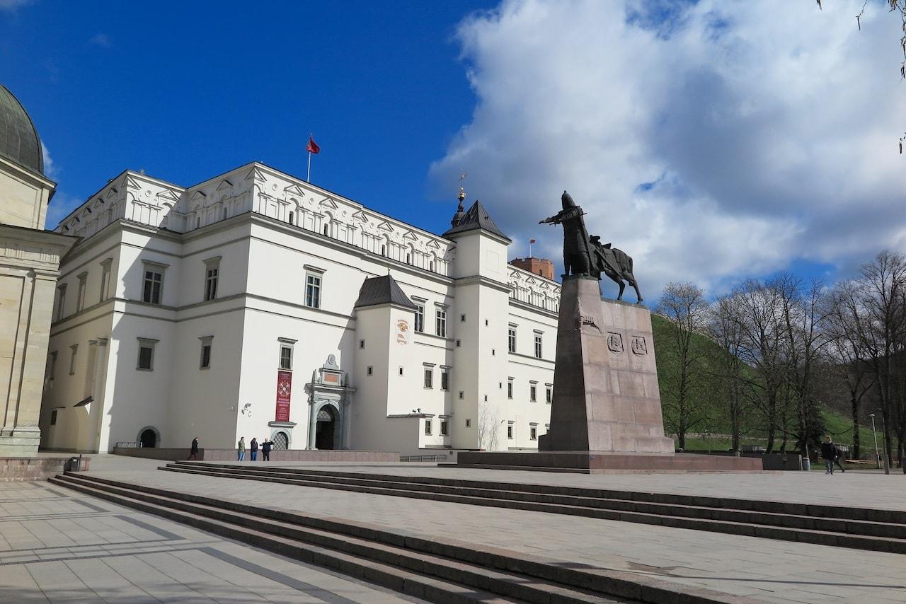Das Grossfürstliche Schloss von Vilnius