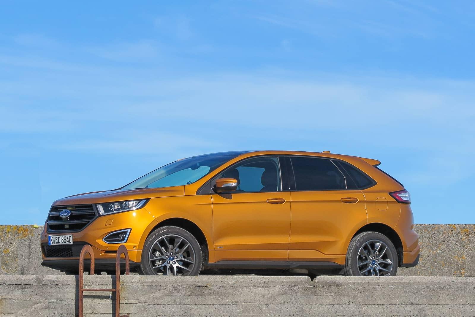 Macht eine gute Figur: Der Ford Edge