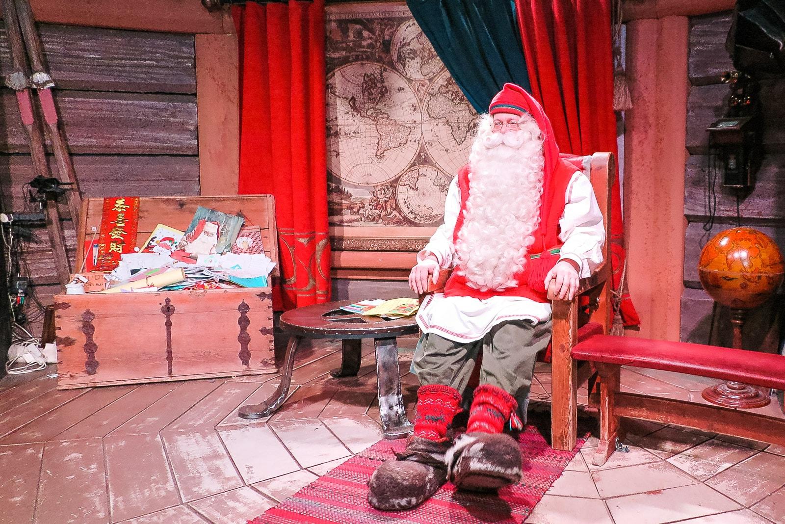 Audienz beim Weihnachtsmann: Santa Claus himself