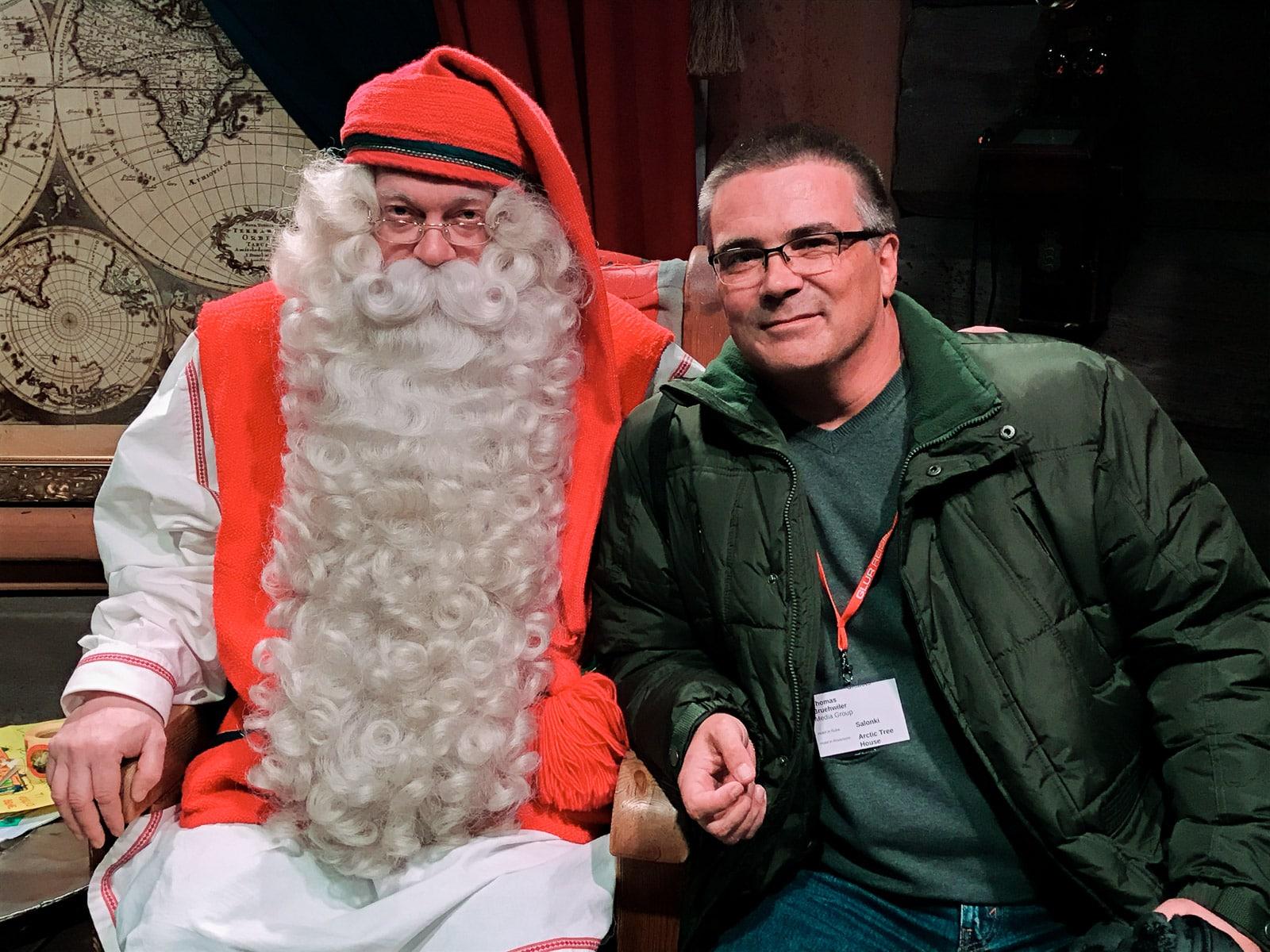 Zwei Weihnachtsmänner...