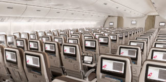 SWISS Boeing 777 Economy Class (Bild (c) Swiss International Air Lines)