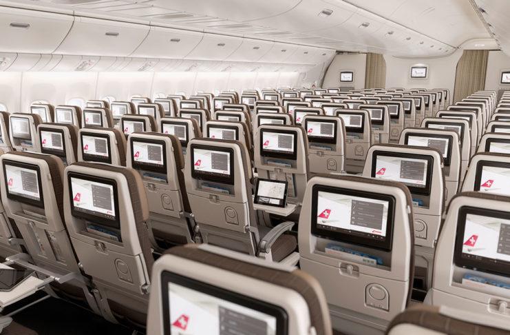 SWISS Boeing 777 Economy Class (Bild (c) Swiss International Air Lines)