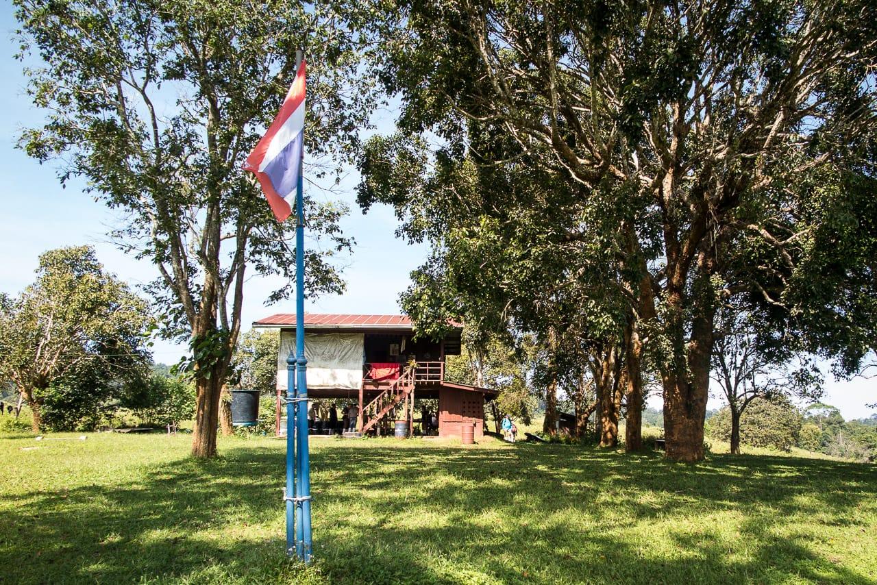 Die Ranger-Station mitten im Nationalpark Khao Yai
