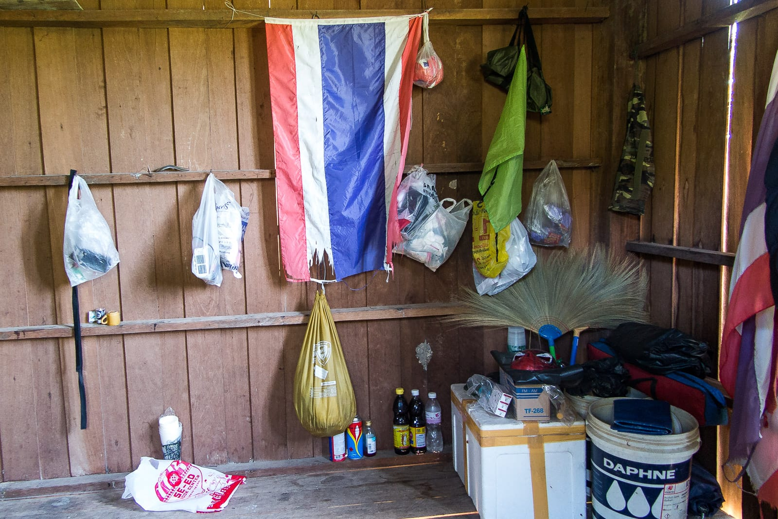 Einfaches Leben auf der Ranger-Station: Das Nötigste ist vorhanden