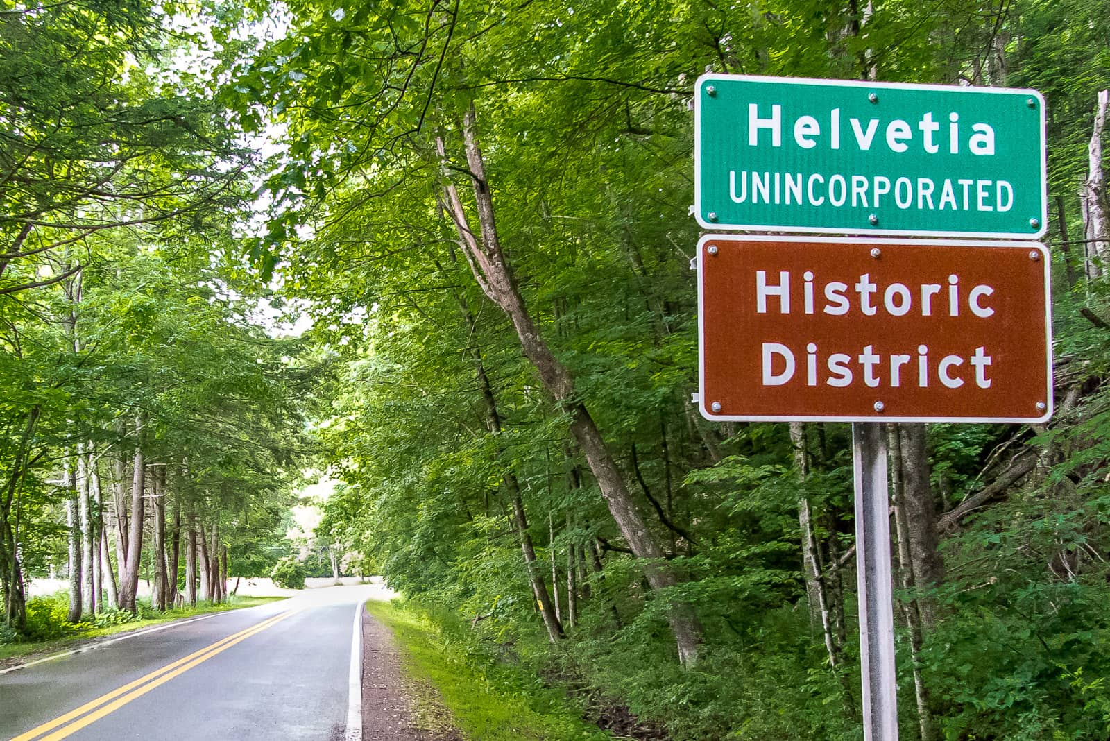 Mitten im Nirgendwo von West Virginia: Willkommen in Helvetia