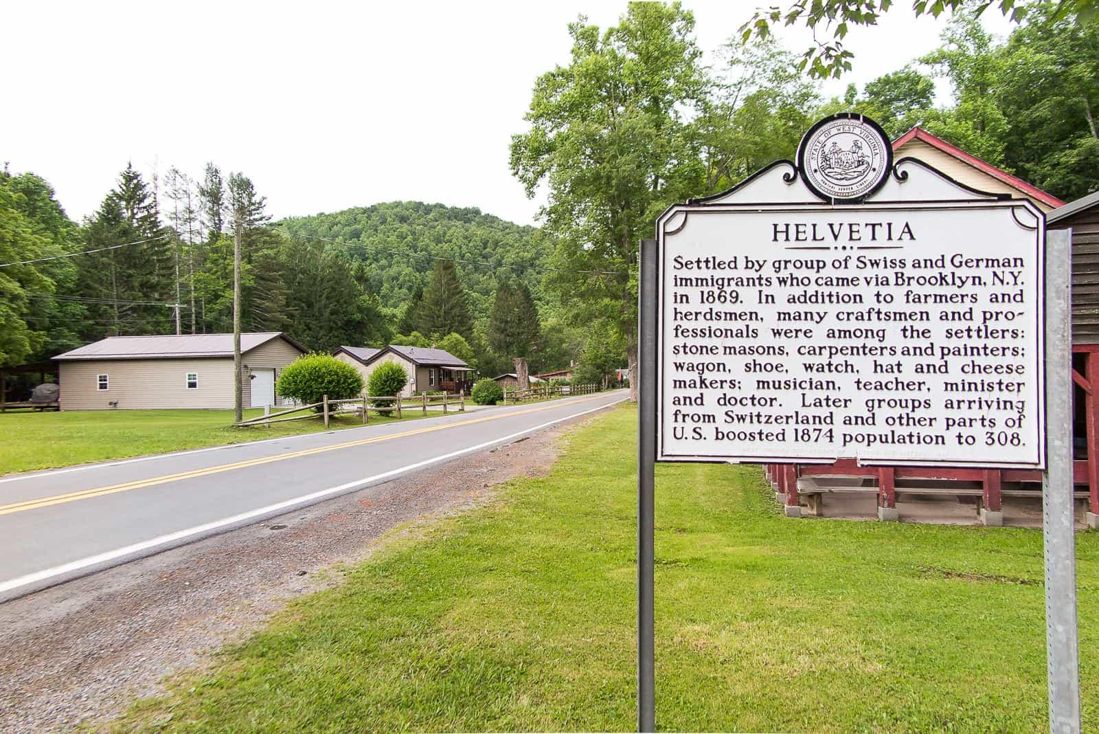 Helvetia, WV: Die ersten Schweizer Siedler kamen 1869